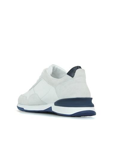 NetWork 1079263 Erkek Deri Sneaker Beyaz